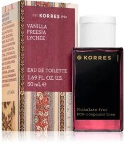 Korres  Vanilla, Freesia & Lychee EDT