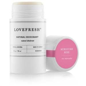 Lovefresh Moroccan Rose Deodorant