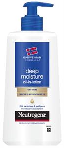 Neutrogena Deep Moisture Oil-In-Lotion
