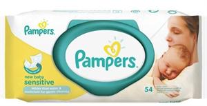 Pampers Törlőkendő Sensitive Newborn