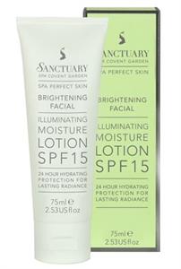Sanctuary SPA Brightening Facial Illuminating Moisture Lotion SPF15