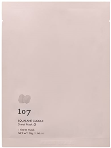 107 Beauty Squalane Cuddle Sheet Mask