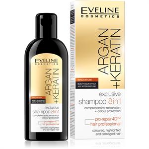 Eveline Cosmetics Argán-Keratin Liquid Silk Sampon 8in1