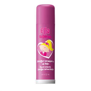 Avon Ella Ballerina Starlight Strawberry Lip Balm