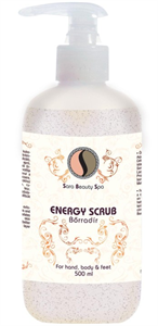 Sara Beauty Spa Energy Scrub Bőrradír
