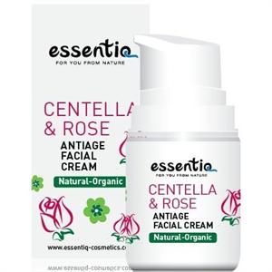 Essentiq Centella & Rózsa Öregedésgátló Krém