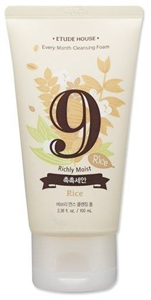 Etude House Every Month Cleansing Foam September, Rice
