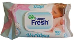 Happy Fresh Baba Sensitive Törlőkendő