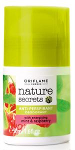 Oriflame Nature Secrets Izzadásgátló Dezodor Mentával és Málnával