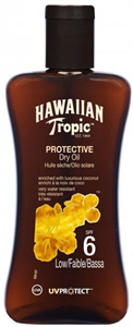 Hawaiian Tropic Protective Dry Oil Kókusz & Papaya SPF6