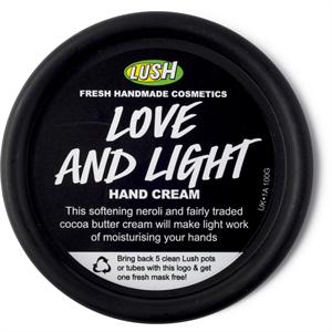 Lush Love And Light Kézkrém