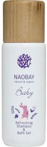 Naobay Baby Refreshing Sampon és Tusológél