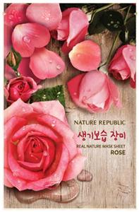 Nature Republic Real Nature Mask Sheet - Rose
