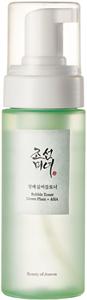Beauty of Joseon Bubble Toner: Green Plum + AHA