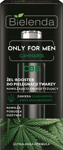 Bielenda Only For Men Cannabis Hidratáló és Energizáló Hatású Gél Booster Férfiaknak