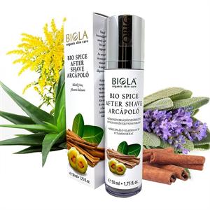 Biola Bio Spice After Shave Arcápoló Balzsam