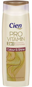 Cien Provitamin Colour & Shine 2 in 1 Sampon és Balzsam