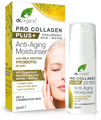 dr. Organic Pro Collagen Plus+ Anti-Aging Hidratáló Arckrém Tejprotein Probiotikummal