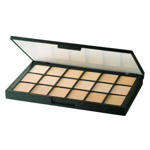 Ben Nye Mediapro Hd 18-Color Sheer Foundation Palette
