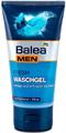 Balea Men Fresh Arclemosó Gél Panthenollal és Mentával