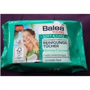 Balea Young Soft & Care Hidratáló Arctisztító Kendő