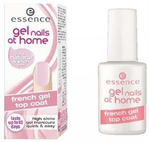 Essence Gel Nails At Home 2in1 French Peel Off Gel Base & Top Coat