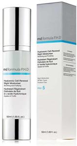 MD Formula P.H.D Hyaluronic Cell Hidratáló Éjszakai Krém