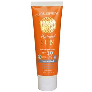 Aubrey Organics Natural Sun Broad Sprectrum SPF 30 Sunscreen