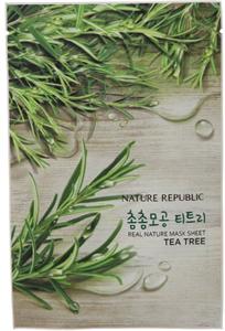 Nature Republic Real Nature Mask Sheet Tea Tree
