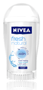 Nivea Fresh Natural Deo Stift