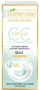 Bielenda Bőrpír Semlegesítő Multifunkcionális CC Korrektor Krém - Zöld
