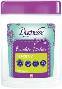 Duchesse Nedvesített Törlőkendő Aloe Verával