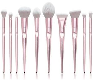 Jessup Metallic Pink Luxury Brush Set