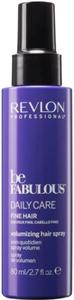 Revlon Professional Be Fabulous Daily Care Dúsító Hatású Spray Vékonyszálú Hajra