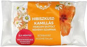 Yamuna Hibiszkusz-Kamillás Hidegen Sajtolt Növényi Szappan