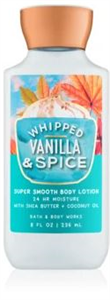 Bath & Body Works Whipped Vanilla & Spice Testápoló Tej