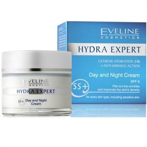 Eveline Hydra Expert 55+ Nappali és Éjszakai Krém