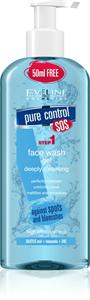 Eveline Pure Control Mélyen Tisztító Arclemosó Gél