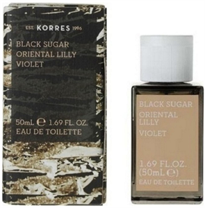 Korres Black Sugar Oriental Lily Violet EDT