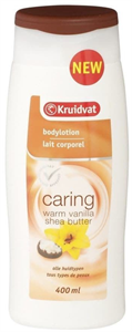 Kruidvat Caring Bodylotion Warm Vanilla & Shea Butter