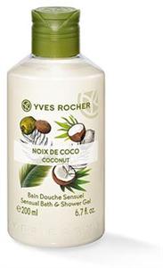 Yves Rocher Plaisirs Nature Kókuszdió Hab- és Tusfürdő