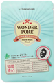 Etude House Wonder Pore Black Mask Sheet