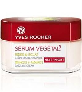 Yves Rocher Serum Vegetal 3 Éjszakai Krém