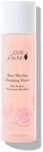 100% Pure Rose Micellar Cleansing Water