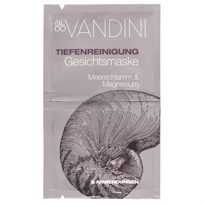 Aldo Vandini Tiefenreinigungs Gesichtmaske