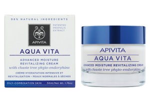 Apivita Aqua Vita Advanced Moisture Revitalizing Cream Oily/Combination Skin