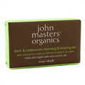 John Masters Organics Birch and Cedarwood Cleansing and Shaving Bar