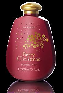 Oriflame Karácsonyi Fürdőhab Bogyós Gyümölcsökkel