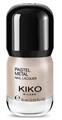 Kiko Pastel Metal Nail Lacquer