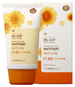 Thefaceshop Natural Sun Eco Oil-Cut Sun Cream SPF40 / PA++